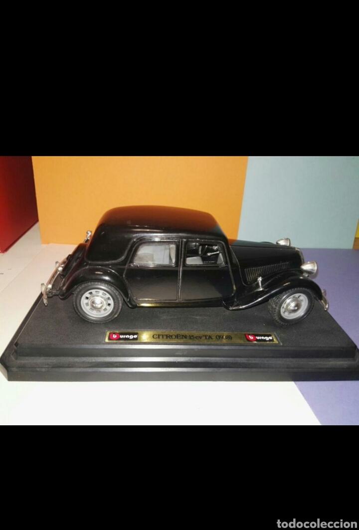 Coches a escala: Burago maqueta de coche 1:24 citroen T.A. 15cv - Foto 3 - 80746622