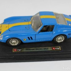 Coches a escala: FERRARI 250 GTO 1962 - BURAGO - MADE IN ITALY - REF. 1501-2519-2 . Lote 84148324