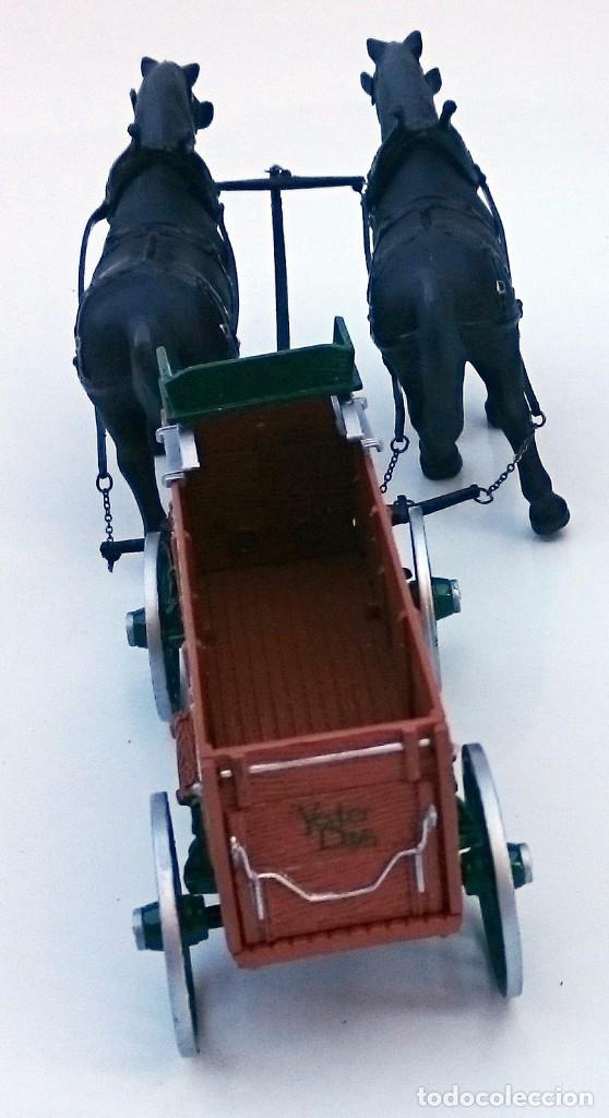 Coches a escala: FIRST GEAR YESTER DAYS 39 DRAFT HORSES WITH WAGON - Foto 3 - 93142445