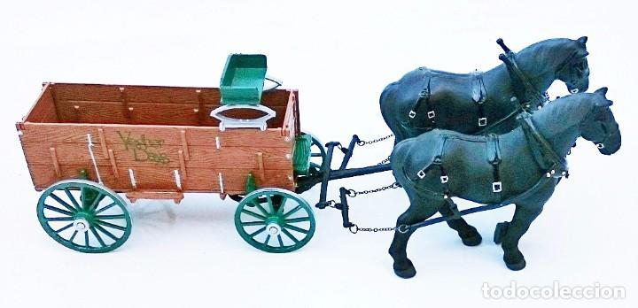 Coches a escala: FIRST GEAR YESTER DAYS 39 DRAFT HORSES WITH WAGON - Foto 4 - 93142445