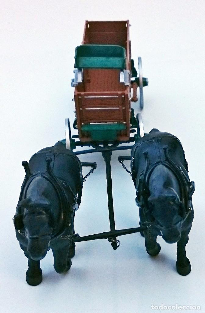 Coches a escala: FIRST GEAR YESTER DAYS 39 DRAFT HORSES WITH WAGON - Foto 5 - 93142445