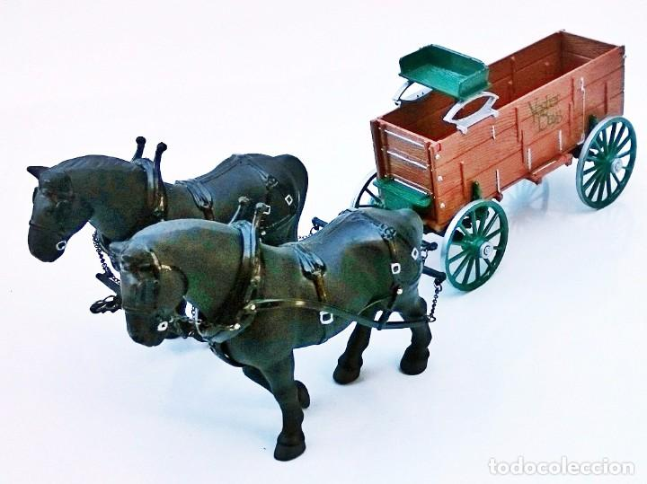 Coches a escala: FIRST GEAR YESTER DAYS 39 DRAFT HORSES WITH WAGON - Foto 9 - 93142445