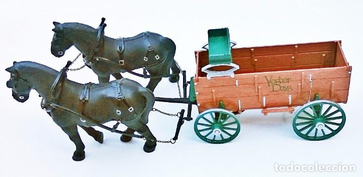 Coches a escala: FIRST GEAR YESTER DAYS 39 DRAFT HORSES WITH WAGON - Foto 10 - 93142445