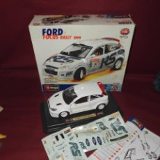 Coches a escala: COCHE FORD FOCUS RALLY 1999 ESCALA 1/24 BURAGO METAL KIT REF 55226. Lote 96849795