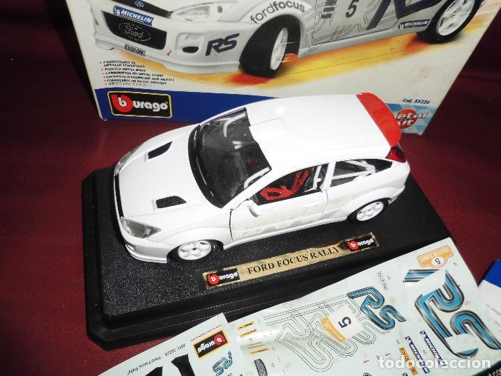 Coches a escala: coche ford focus rally 1999 escala 1/24 burago metal kit ref 55226 - Foto 2 - 96849795