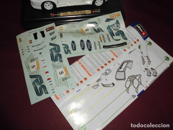 Coches a escala: coche ford focus rally 1999 escala 1/24 burago metal kit ref 55226 - Foto 3 - 96849795