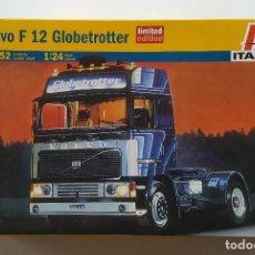 Coches a escala: 2009 ITALERI: CAMIÓN VOLVO F12 GLOBETROTTER DE 1992 / NUEVO Y PRECINTADO EN CAJA - ED. LIMITADA. Lote 98617835