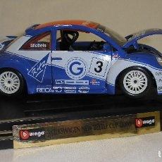 Coches a escala: BURAGO VOLKSWAGEN NEW BEETLE CUP (2000). Lote 105843867