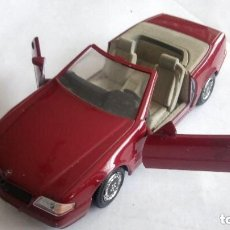 Coches a escala: MERCEDES 500 SL - GUILOY, ESCALA 1/24, MADE IN SPAIN. Lote 112722459