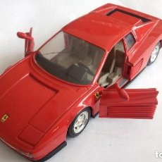 Coches a escala: FERRARI TESTAROSSA - GUILOY, ESCALA 1/24, MADE IN SPAIN. Lote 112722627