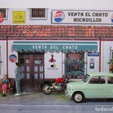 Carros em escala: DIORAMA ESCALA 1/24 VENTA EL CHATO. Lote 182623926
