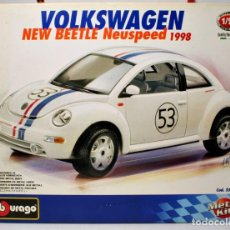 Coches a escala: KIT METAL NEW BEETLE . DECORACIÓN HERBIE . Lote 115917871