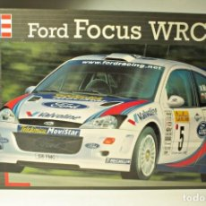 Coches a escala: KIT MONTAJE PLÁSTICO FORD FOCUS WRC SAINZ - MC RAE . Lote 115924239