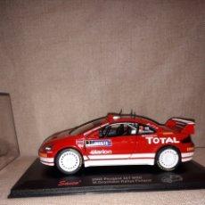 Coches a escala: SAICO PEUGEOT 307 WRC 2005 M .GRONHOLM RALLY FINLAND. Lote 120357272