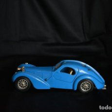 Coches a escala: BUGATTI ATLANTIC 1936 BURAGO MADE IN ITALY. Lote 124461159