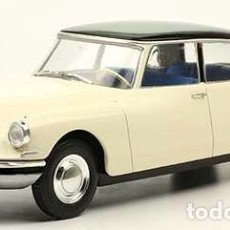 Coches a escala: CITROEN DS 19 1955 ESCALA 1/24 DE SALVAT. Lote 204173558