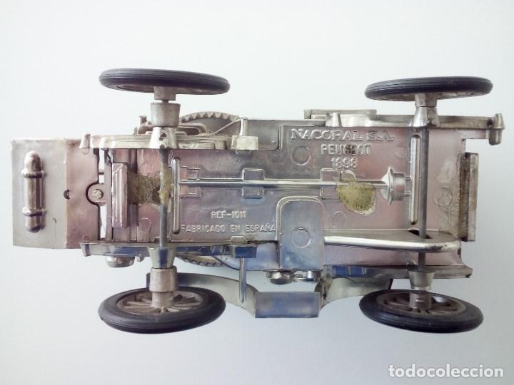 Coches a escala: Coche clasico, Peugeot 1898. Casa Nacoral. Escala 1/24. - Foto 4 - 132017526