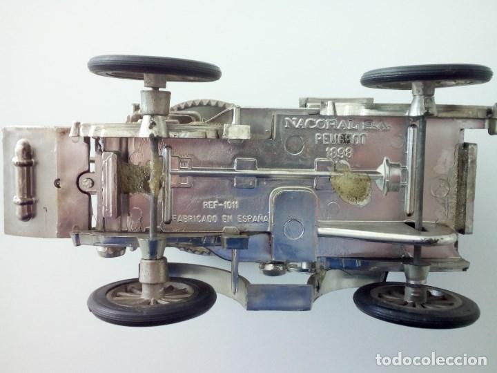 Coches a escala: Coche clasico, Peugeot 1898. Casa Nacoral. Escala 1/24. - Foto 5 - 132017526