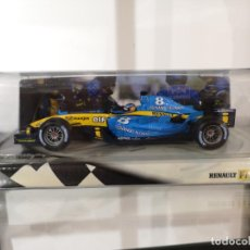 Coches a escala: RENAULT R24 F-1 FERNANDO ALONSO. 1:24 HOT WHELLS. Lote 132158490