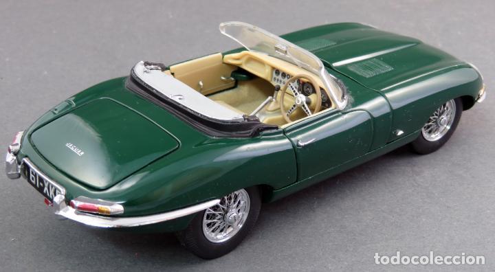 Coches a escala: Jaguar E type 1961 Franklin Mint Precision Models años 90 1/24 coche a escala - Foto 2 - 132485430