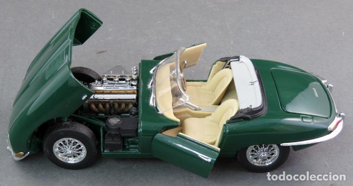 Coches a escala: Jaguar E type 1961 Franklin Mint Precision Models años 90 1/24 coche a escala - Foto 3 - 132485430