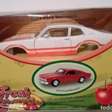 Coches a escala: COCHE METALICO FORD MAVERICK GRABBER 1974 FRESH CHERRIES MODEL KIT PARA MONTAR. Lote 132900598