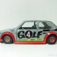 Coches a escala: VOLKSWAGEN GOLF GTI VW MK1 BURAGO BBURAGO ESCALA 1:24 REF. 9101 MOTORSPORT PLAYBOY COCHE AUTOMÓVIL. Lote 137649646