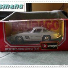 Coches a escala: BURAGO MERCEDES BENZ 300 SL (1954) VER FOTOS PARA ESTADO. Lote 140777626