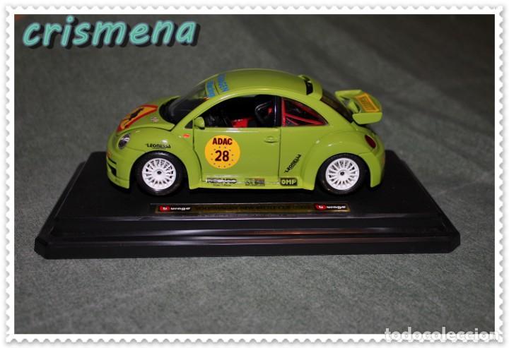 Coches a escala: burago volkswagen new beetle cup (2000) ver FOTOS PARA ESTADO - Foto 3 - 140924310