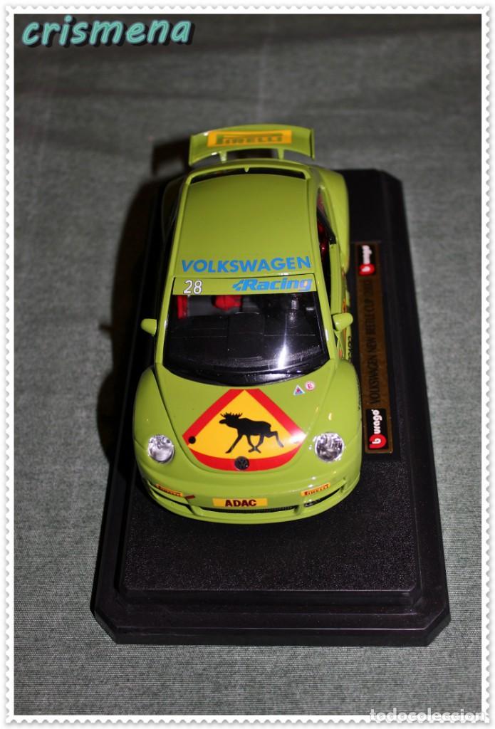 Coches a escala: burago volkswagen new beetle cup (2000) ver FOTOS PARA ESTADO - Foto 4 - 140924310