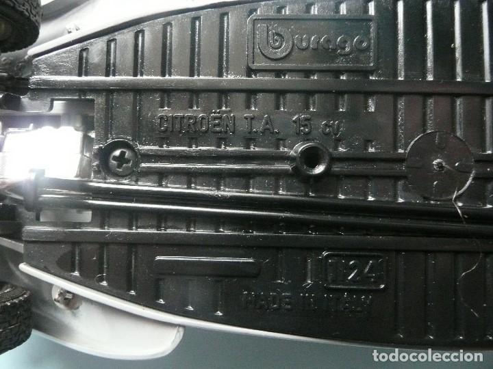 Coches a escala: CITROEN T.A 15CV-BURAGO- ESCALA1/24 - Foto 9 - 141080882