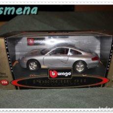 Coches a escala: BURAGO PORSCHE 911 CARRERA 1997 VER FOTOS PARA ESTADO. Lote 141130106