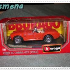Coches a escala: BURAGO FORD AC COBRA 427 (1965) VER FOTOS PARA ESTADO. Lote 141130538