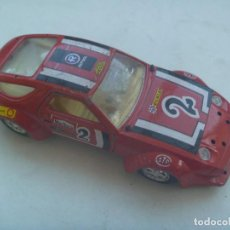 Coches a escala: MINIATURA DE COCHE : PORSCHE 928 RALLYE, ESCALA 1:25 . DE MIRA , MADE IN SPAIN. Lote 141460534