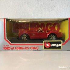 Coches a escala: BURAGO 1:24 FORD AC COBRA 427 (1965) REF: 0513. NUEVO CON CAJA.. Lote 141706078