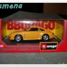 Coches a escala: BURAGO PORSCHE 911 CARRERA (1993) VER FOTOS PARA ESTADO. Lote 177600207