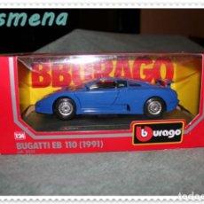 Coches a escala: BURAGO BUGATTI EB 110 (1991) VER FOTOS PARA ESTADO. Lote 141838282