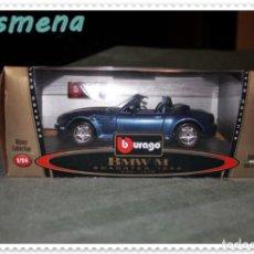 Coches a escala: BURAGO BMW M ROADSTER 1996 VER FOTOS PARA ESTADO. Lote 142103874