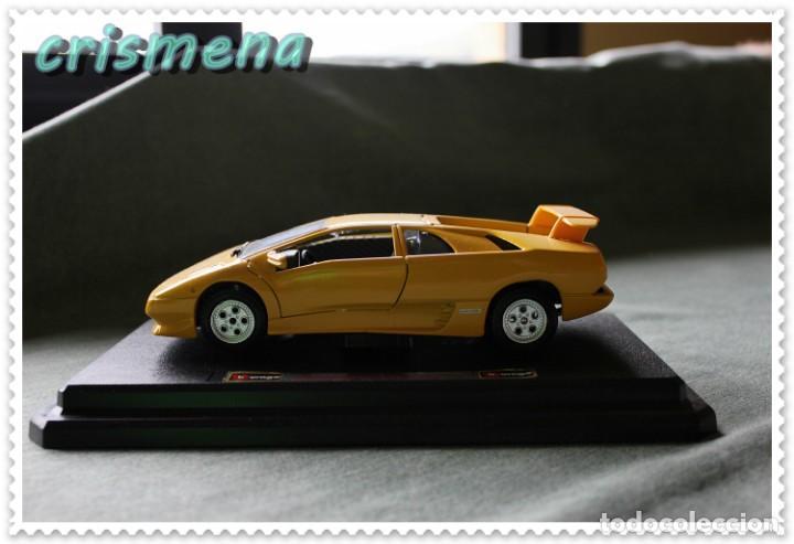 Lamborghini Diablo 1990 >> Burago Lamborghini Diablo 1990 1 24 Ver Fotos P Sold