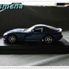 Coches a escala: BURAGO DODGE VIPER GTS COUPE (1996) 1/24 VER FOTOS PARA ESTADO. Lote 142449778