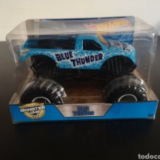 Coches a escala: HOT WHEELS 1/24 MONSTER JAM - BLUE THUNDER-NEW. Lote 142781166