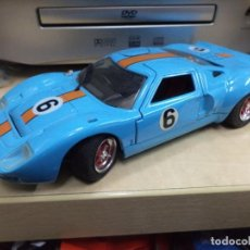Coches a escala: FORD GT 40 1968.MAJORETTE FRANCE ESC.1/24.. Lote 144183798