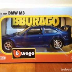 Coches a escala: COCHE BURAGO DE METAL ESCALA 1/24.BMW M3. Lote 147750562
