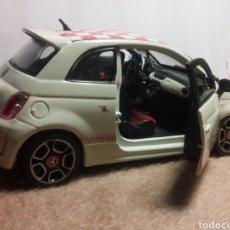 Coches a escala: FIAT 500 ABARTH. Lote 148674332