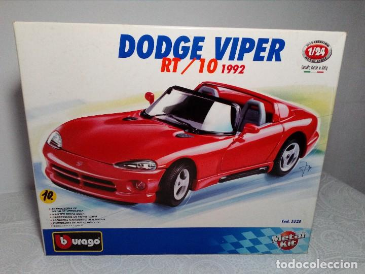 BURAGO DODGE VIPER RT/10 1992 ESCALA 1/24 (PRÁCTICAMENTE COMO NUEVO) (Juguetes - Coches a Escala 1:24)