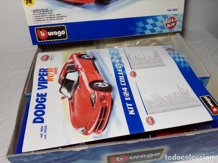 Coches a escala: BURAGO DODGE VIPER RT/10 1992 ESCALA 1/24 (PRÁCTICAMENTE COMO NUEVO) - Foto 9 - 149867098