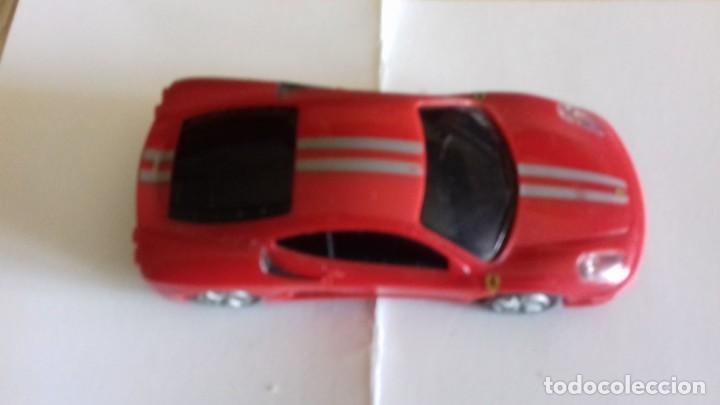 Coches a escala: Coche de Ferrari coleccion petrolera SHELL - Foto 2 - 152043902