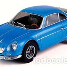 Coches a escala: ALPINE A110 1600 1973 ESCALA 1/24 DE SALVAT. Lote 172221629