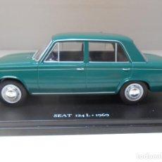 Coches a escala: COCHE SEAT 124L 124 L 1969 IXO 1/24 1:24 MODEL CAR ALFREEDOM FIAT. Lote 162915486