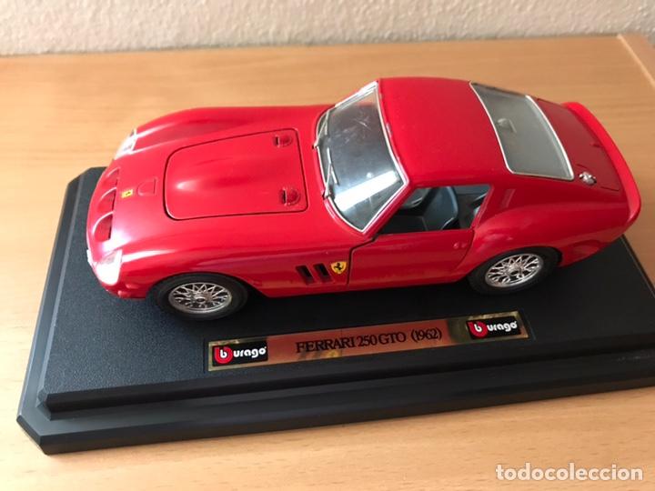 Coches a escala: Precioso coche FERRARI 250 GTO Burago 1:24 - Foto 2 - 164570876